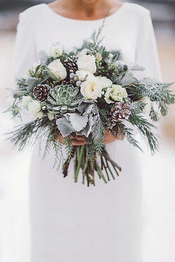 vjenčani buket zima