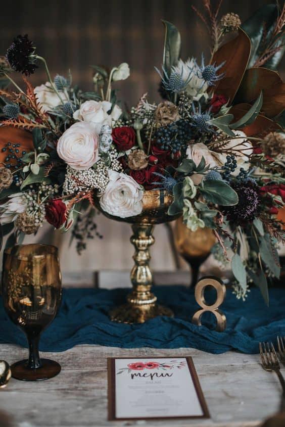 Jesen vjenčanje dekoracije