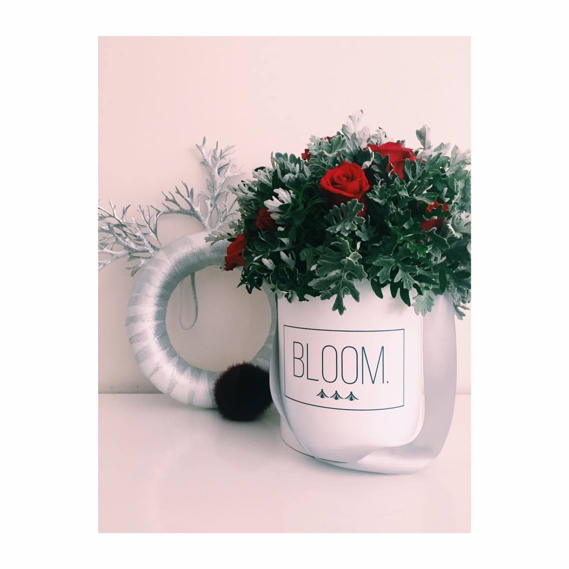 Bloom cvijece u kutiji