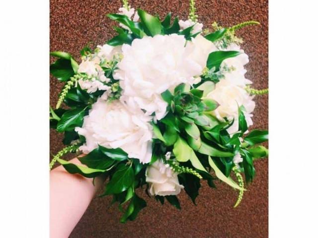 vjenčani buket, La grma