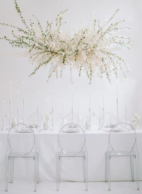 cvjetna instalacija, vjenčanje 2019